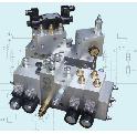驻车制动液压控制集成阀组